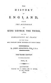 The history of England, from the accession of George iii to 1783