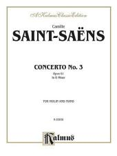 Violin Concerto, No. 3: String - Violin and Piano
