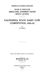 Bulletin - California Agricultural Experiment Station: Issues 351-375