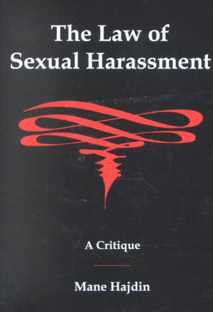 The Law of Sexual Harassment PDF