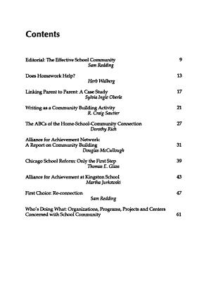 The School Community Journal