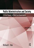 Public Administration and Society PDF