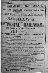 Bradshaw's continental [afterw.] monthly continental railway, steam navigation & conveyance guide. June 1847 - July/Oct. 1939