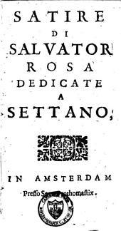 Satire dedicate a Settano