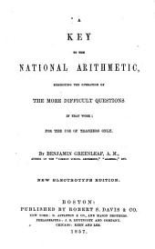A key to the National arithmetic