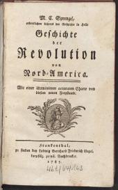 Geschichte der Revolution von Nord-America