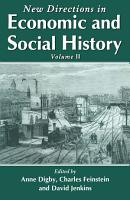 New Directions in Economic and Social History PDF