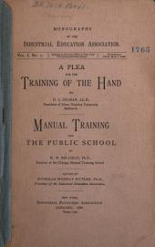 Monographs of the Industrial Education Association