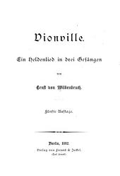 Vionville: ein Heldenlied in drei Gesängen