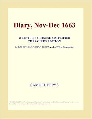 Diary  Nov Dec 1663  Webster s Chinese Simplified Thesaurus Edition  PDF