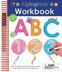Alphaprints  Wipe Clean Workbook ABC