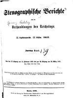 Verhandlungen des Reichstags PDF
