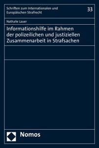 Informationshilfe im Rahmen der polizeilichen und justiziellen Zusammenarbeit in Strafsachen PDF