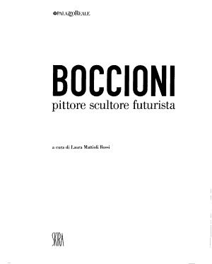 Boccioni PDF