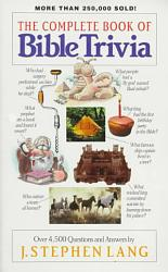 The Complete Book of Bible Trivia PDF