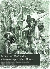 Leben und Thaten des scharfsinnigen Edlen Don Quixote von la Mancha: Übers. v. Ludwig Tieck. Mit Illustr. v. Gustav Doré