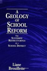 A Geology of School Reform