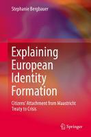 Explaining European Identity Formation PDF
