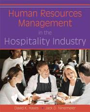 Human Resources Management in the Hospitality Industry PDF