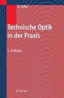 Technische Optik in der Praxis PDF