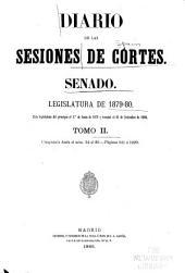Diario de las sesiones ...: Volumen 2