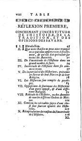 La philosophie du bon-sens; ou, Reflexions philosophiques sur l'incertitude des connoissances humaines, à l'usage des cavaliers & du beau-sexe: Volume1