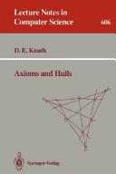 Axioms and Hulls