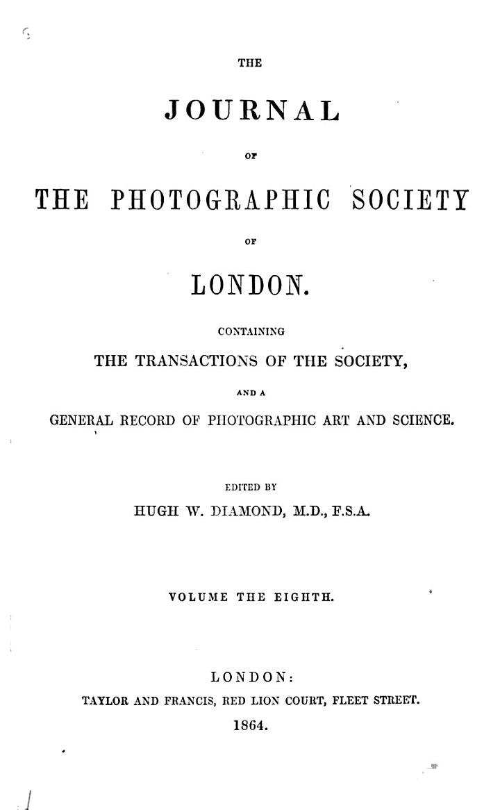 The Photographic Journal