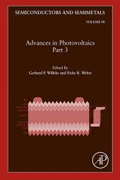 Advances in Photovoltaics:: Part 3