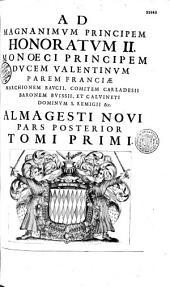 Almagestum novum, astronomiam veterem novamque complectens, observationibus aliorum et propriis, novisque theorematibus ; problematibus, ac tabulis promotam, in tres tomos distributam... auctore P. Ioannes Baptista Ricciolo...