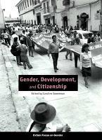 Gender  Development  and Citizenship PDF