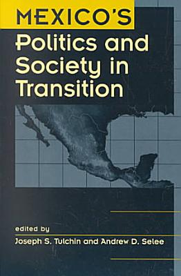 Mexico s Politics and Society in Transition PDF