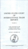 United States Court of International Trade Reports PDF