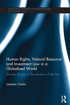 Human Rights  Natural Resource and Investment Law in a Globalised World