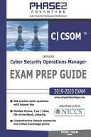 Certified Cyber Security Operations Manager PDF