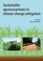 Sustainable agroecosystems in climate change mitigation PDF