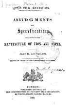 Patents for Inventions  A D  1867 1876   1st ed PDF