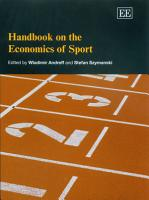 Handbook on the Economics of Sport PDF