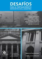 Desaf  os para el fortalecimiento democr  tico en la Argentina PDF