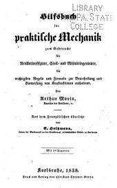 Hilsbuch für praktische mechanik ...