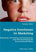 Negative Emotionen im Marketing PDF