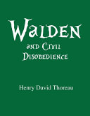 Walden And Civil Disobedience By Henry David Thoreau Book PDF