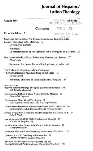 Journal of Hispanic Latino Theology