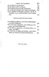 Lycée, ou Cours de littérature ancienne et moderne: Volume13