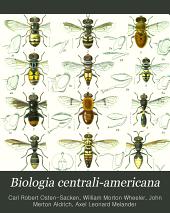 Biologia Centrali-americana: Insecta. Diptera ...