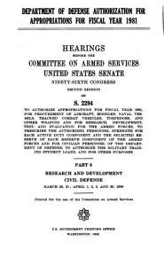 Research and Development  Civil defense PDF