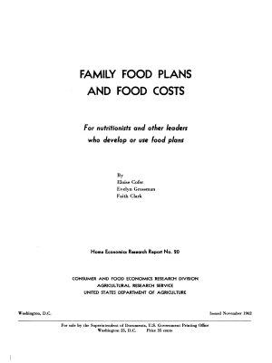 Home Economics Research Report
