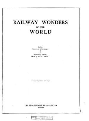 Railway Wonders of the World PDF