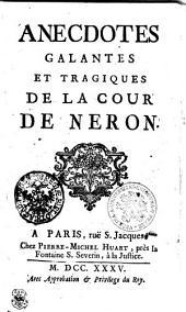 Anecdotes galantes et tragiques de la cour de Neron