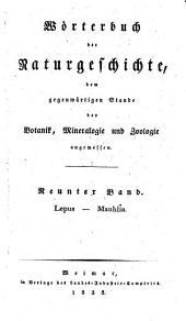 Lepus - Mauhlia: Neunter Band
